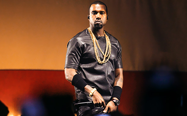 ANTWERP, BELGIUM - JUNE 3: Rapper Kanye West performing during the Watch The Throne Tour at the Sportpaleis on June 3, 2012 in Antwerp, Belgium. (Photo by Pieter-Jan Vanstockstraeten/Photonews via Getty Images)
